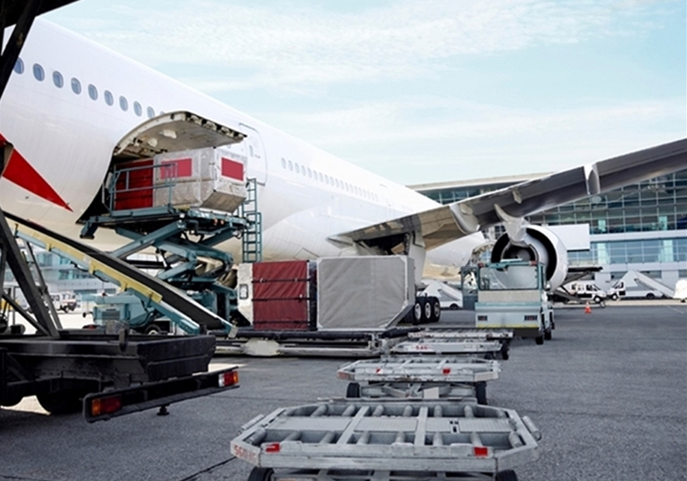 Air freight suffering 'the sharpest fall ever recorded'
