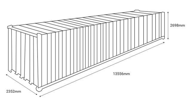 CONTAINER 45' HIGH CUBE